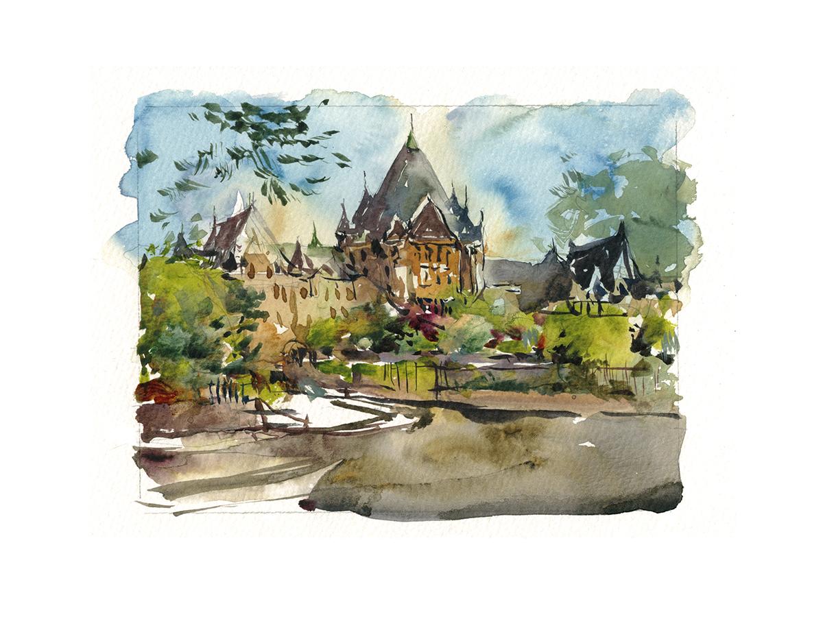 1200x900 A Marathon Of Miniatures In Watercolor Citizen Sketcher