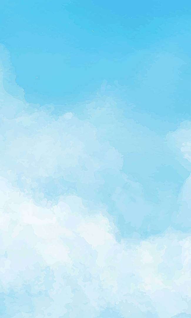 650x1081 Watercolor Background, Watercolor, Light, Blue Background Image