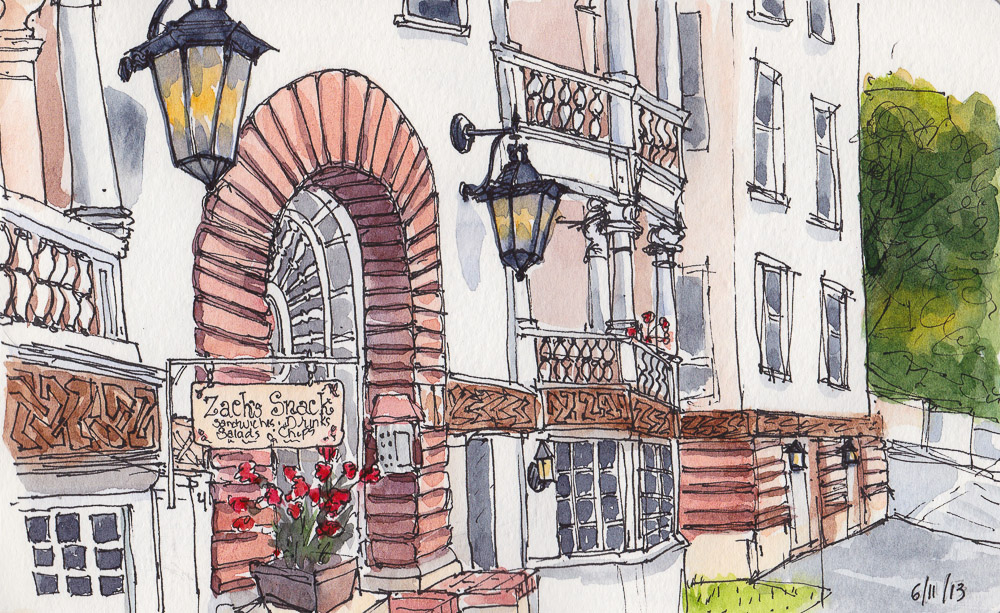 1000x613 Urban Sketchers S.f. Bay Area Seeing Is Believing Or Drawing Is