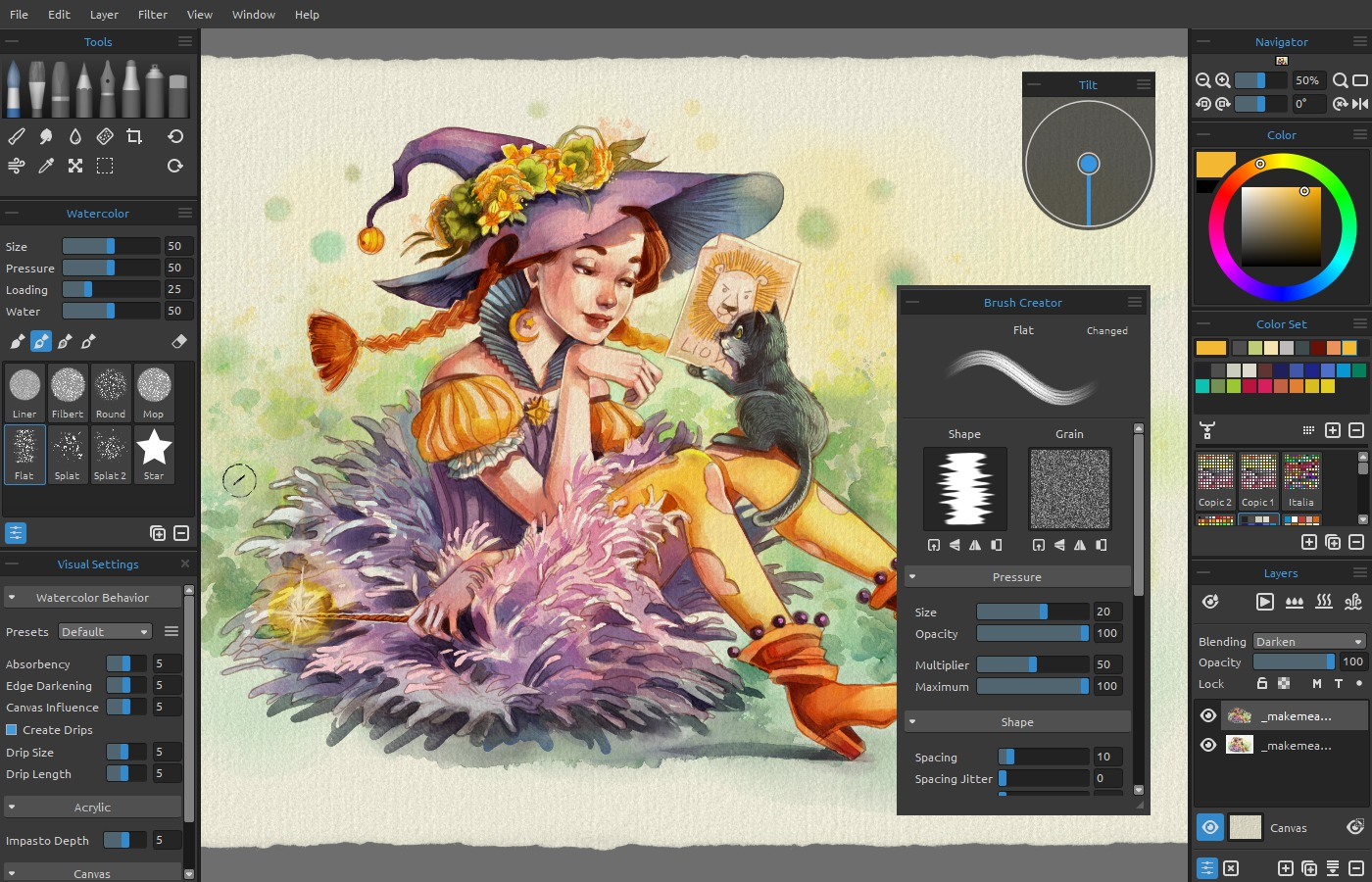 Watercolor Software at GetDrawings com | Free for personal use