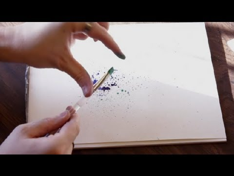 480x360 Paper Amp Watercolor Splatter Crafts Drawing Amp Art