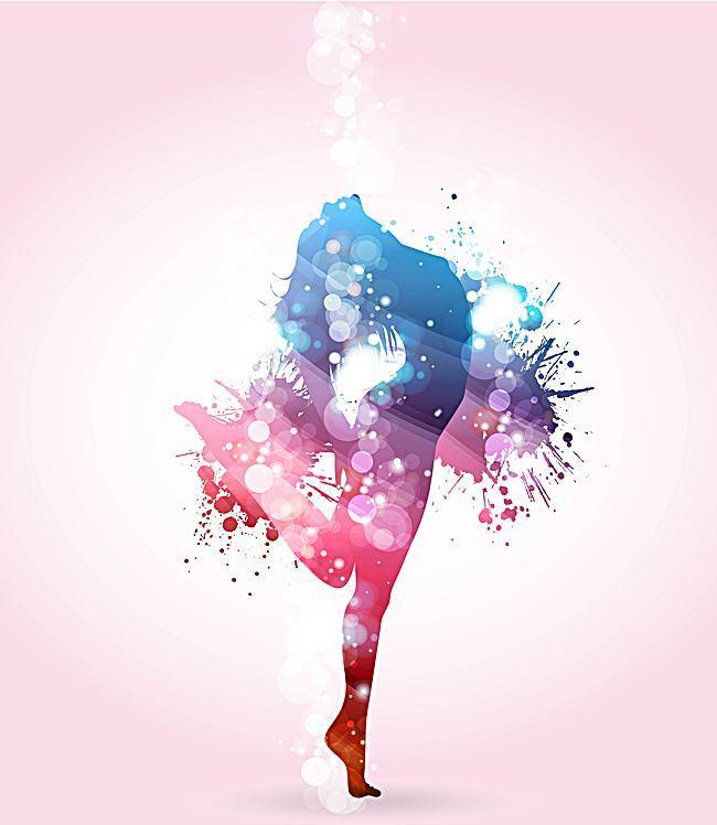 650x748 Watercolor Splash Art Color Background, Liquid, Silhouette