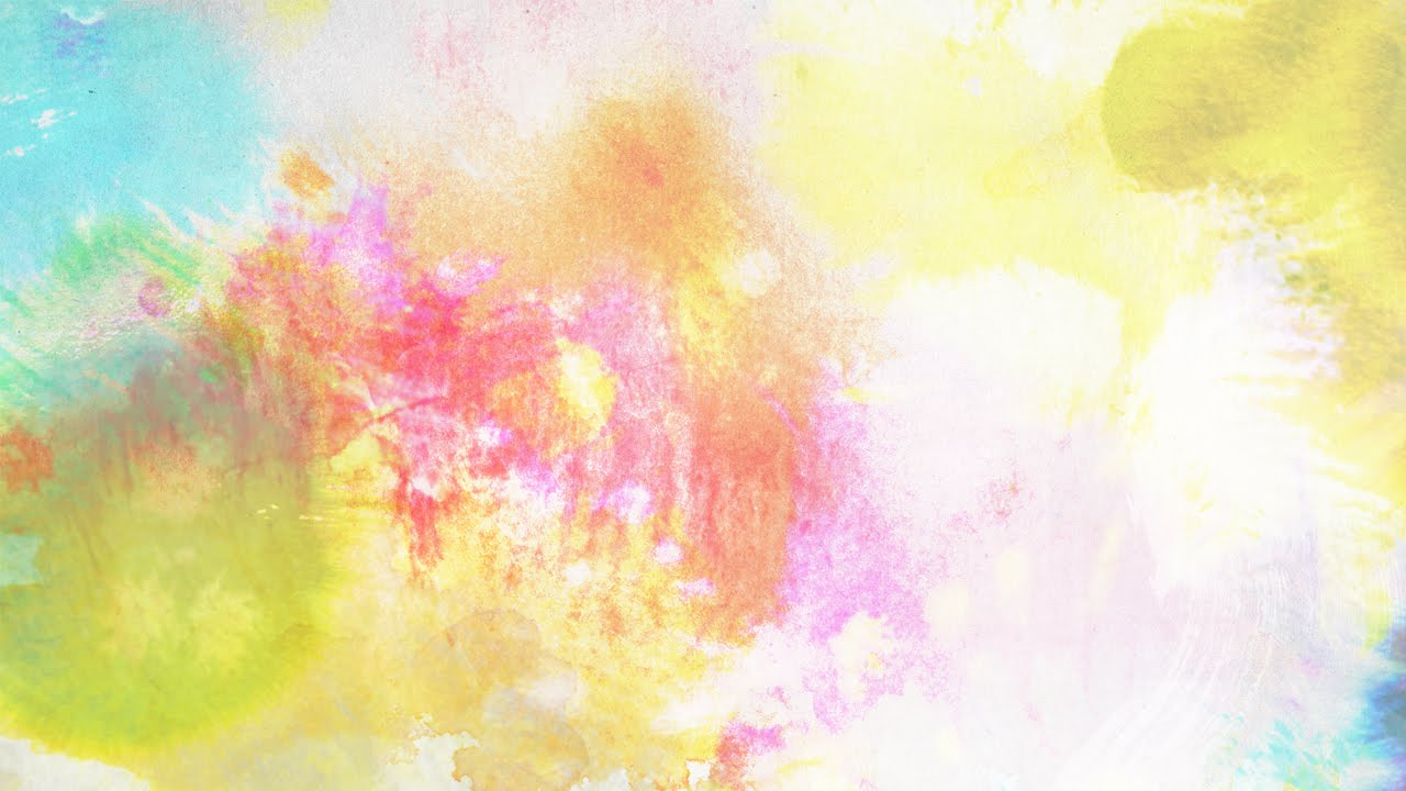 1280x720 Colorful Ink Watercolor Background