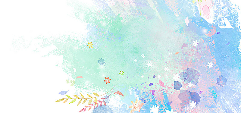 800x375 Colorful Watercolor Splash Background, Water, Drop, Cold