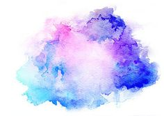 236x168 Illustration Abstract Pink Watercolor On White Background.this Is