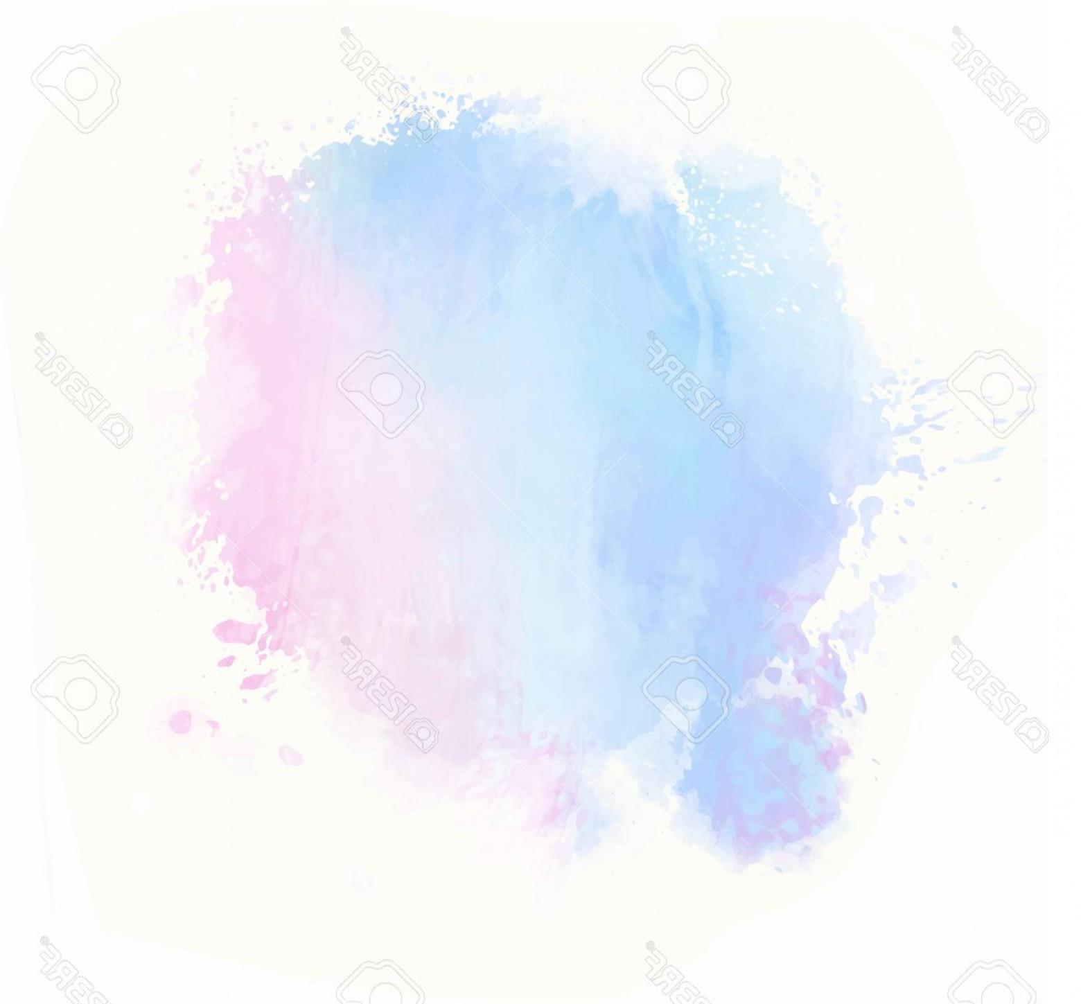 1560x1449 Photostock Vector Pink Blue Watercolor Splash Vector Painted Water