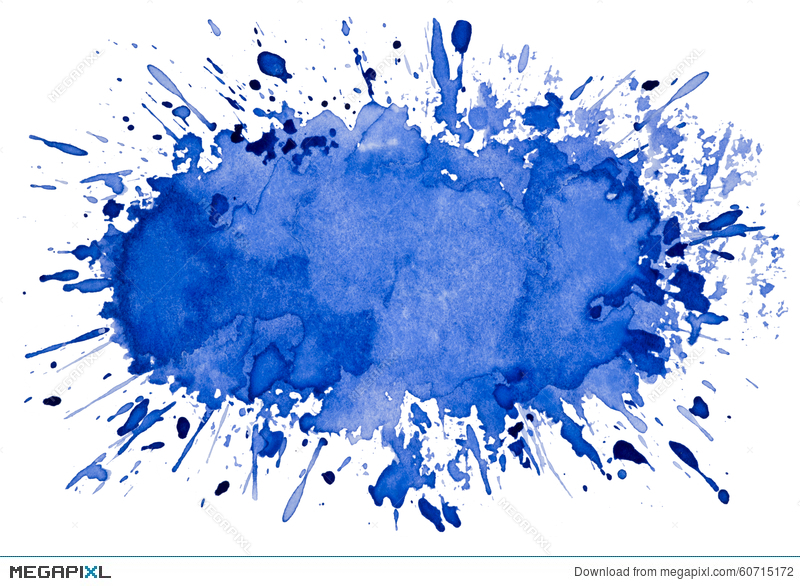 800x586 Abstract Artistic Blue Watercolor Splash Object Background