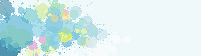 800x225 Watercolor Splatter Background, Watercolor, Splash, Color