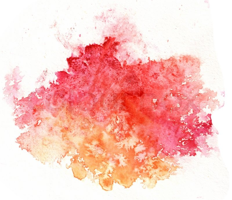 800x690 Watercolor Splash Paint On White Background Textured With Solt