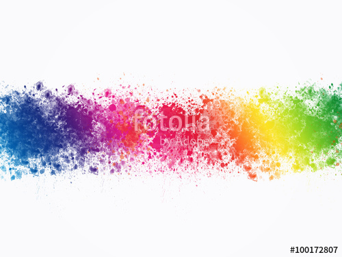 500x375 Colorful Abstract Artistic Watercolor Splash Background Stock