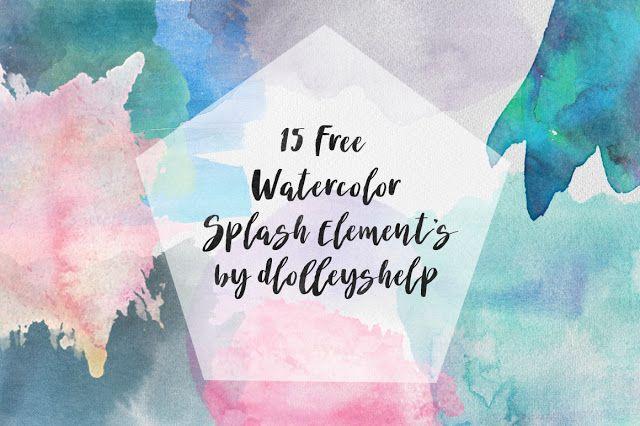 640x426 Dlolleys Help Free Watercolor Splash Elements Photoshop