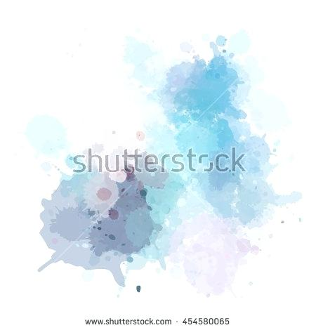 450x470 Free Watercolor Vector Colorful Background Texture Stains Splatter