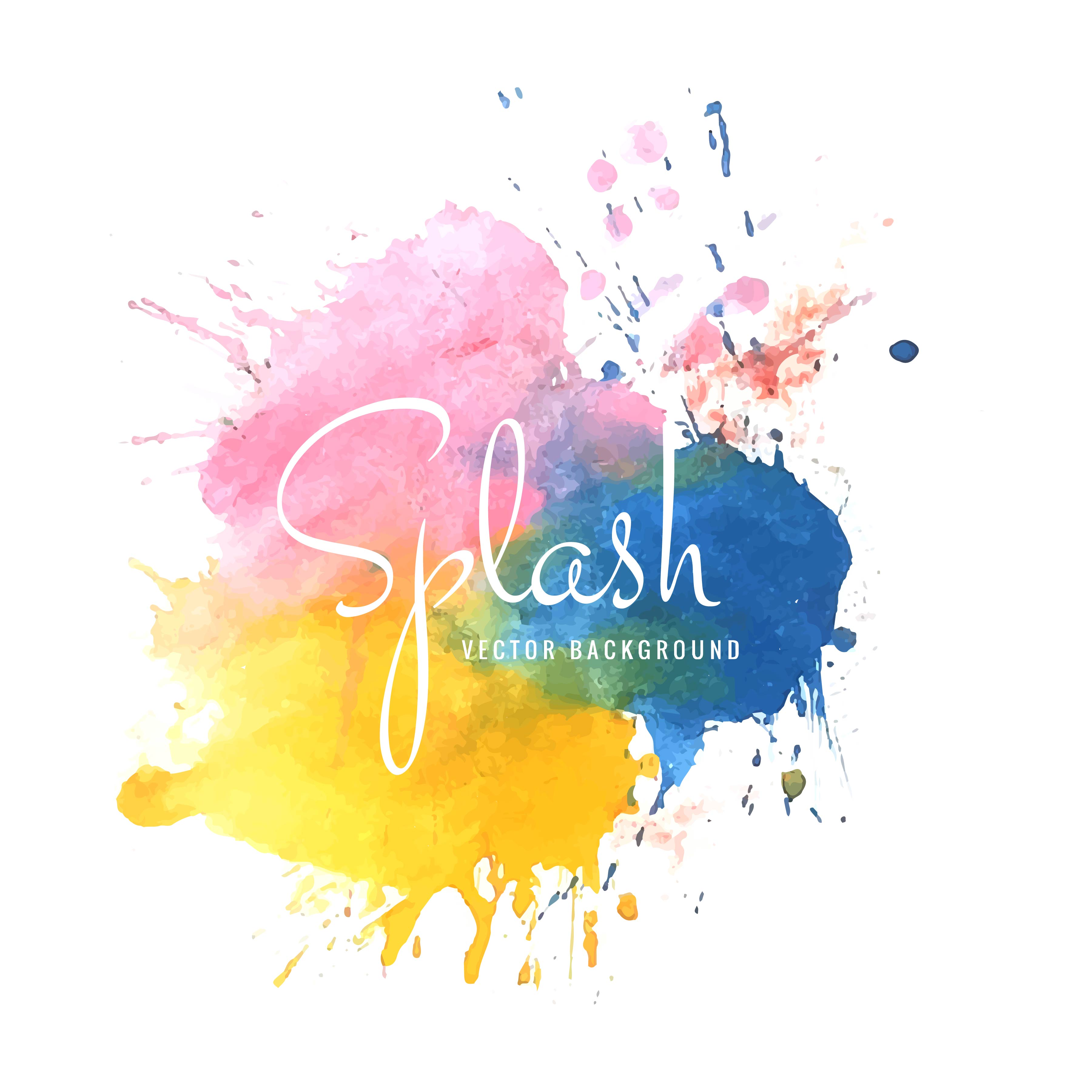 3601x3601 Ink Colorful Splatter Paint Seamless Picturesque Www