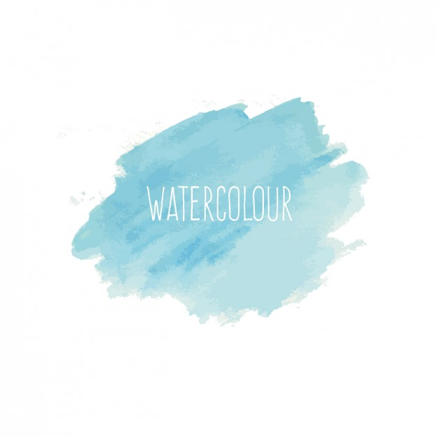 626x626 Blue Watercolor Background Free Vector