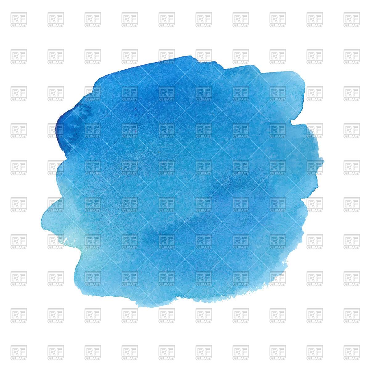 1200x1200 Blue Watercolor Spot Vector Image Vector Artwork Of Design