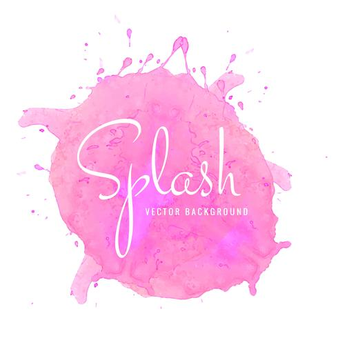 490x490 Abstract Watercolor Splash Design Background