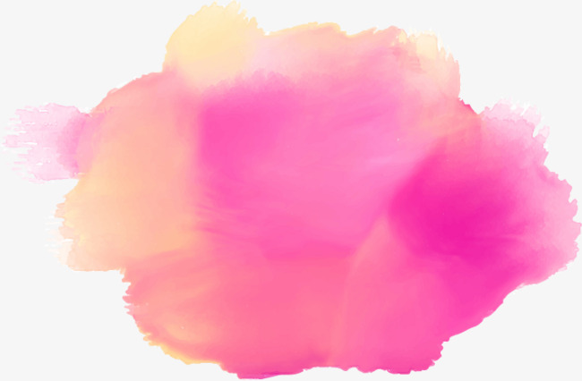 650x426 Pink Stain, Watercolor, Splash, Dreamy Effect Png And Vector For