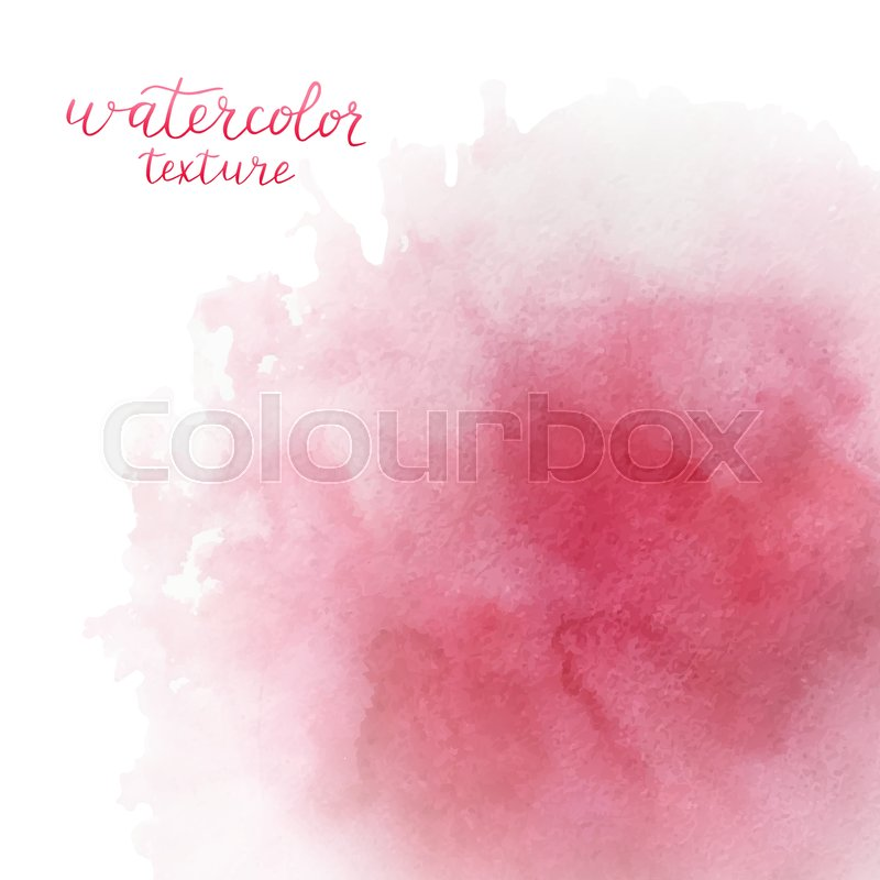 800x800 Watercolor Pink Background With Space For Text. Watercolor Splash