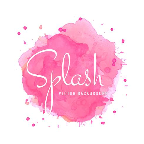 490x490 Abstract Pink Watercolor Splash Background