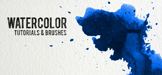 Watercolor Splash Tutorial
