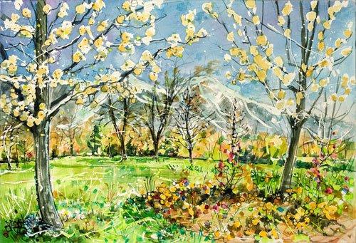 Watercolor Spring