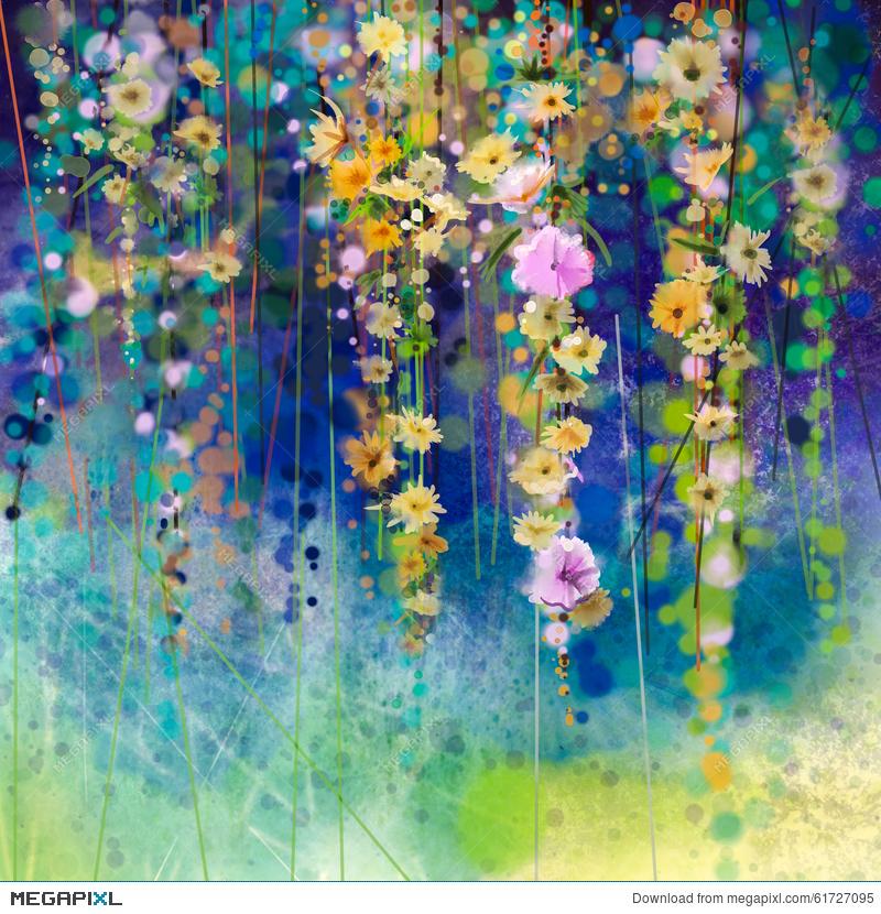 Watercolor Spring Paintings At Getdrawings Free For Personal