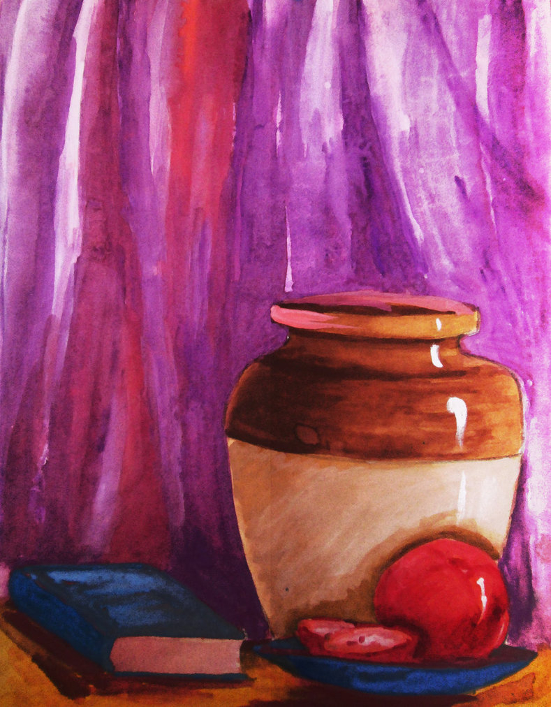 789x1012 Watercolour Still Life Painting Watercolor Paintings Still Life