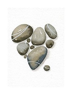 Watercolor Stone