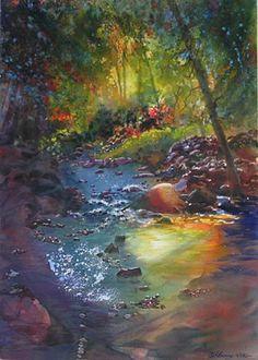 Watercolor Stream