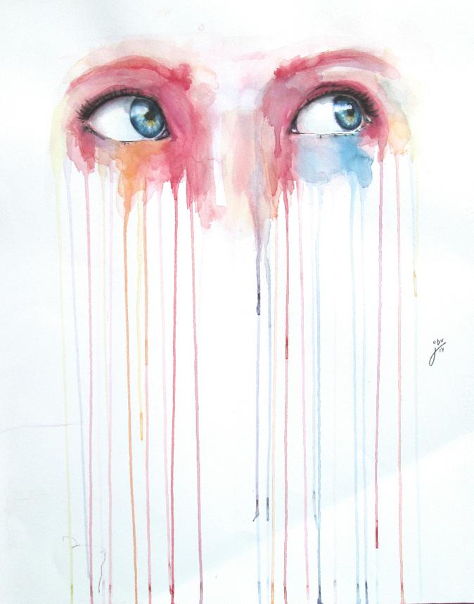 Watercolor Tears