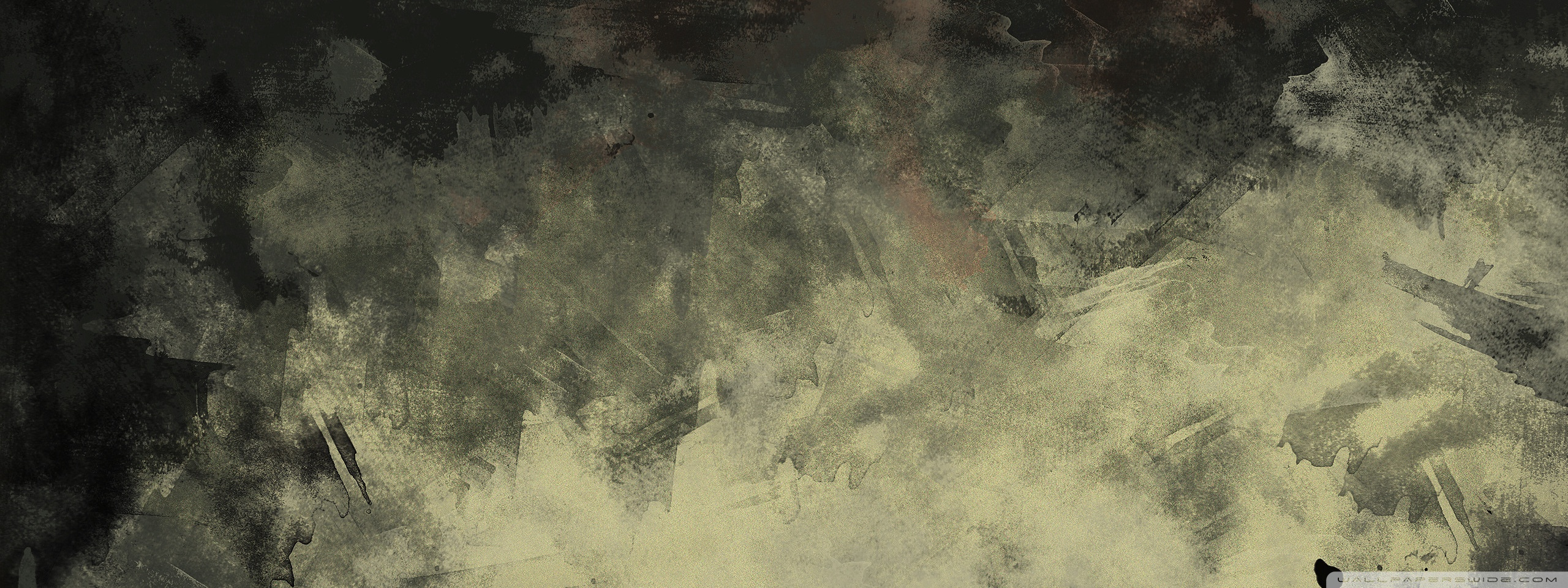 2560x960 Grunge Watercolor Texture 4k Hd Desktop Wallpaper For 4k Ultra