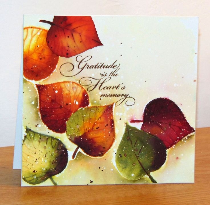 Watercolor Thanksgiving Cards