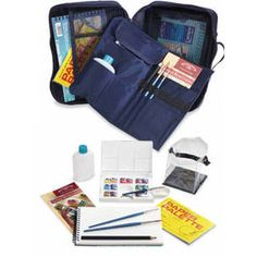 Watercolor Travel Bag