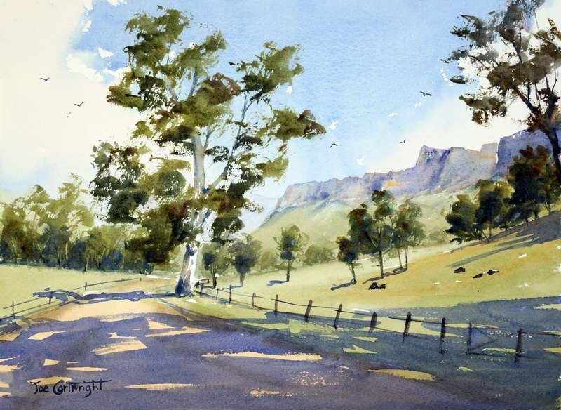 800x584 Watercolor Paintings Landscape Gallery