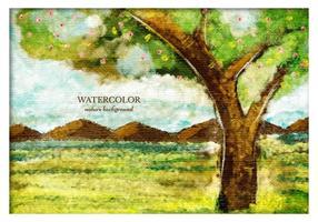 286x200 Watercolor Tree Free Vector Art