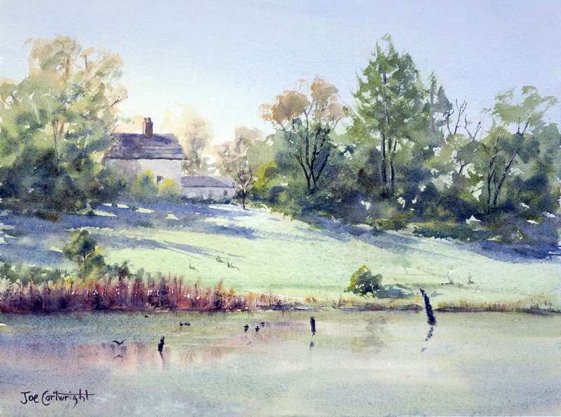 800x595 Free Watercolor Painting Landscape Demonstrations How To Watercolour