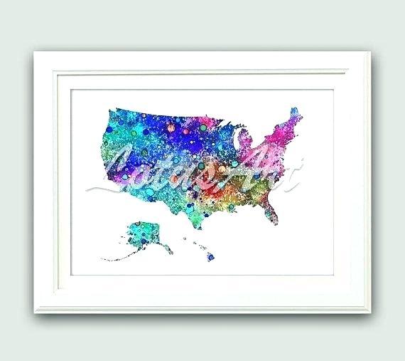 570x507 Usa Map Wall Art Map Us Map Wall Art Map Nursery Art My First Map