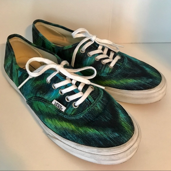 d5053f5236ecd7 580x580 Vans Shoes Authentic Watercolor Poshmark