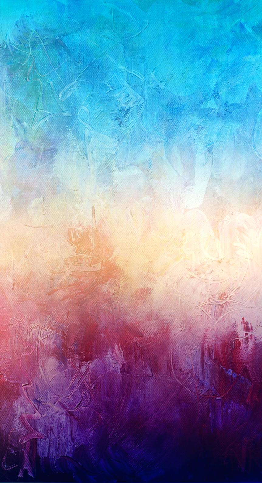 862x1590 Watercolor Wallpaper Iphone 6 Plus Art Oil Paint Wallpaper