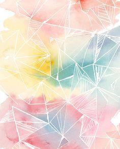 Watercolor Wallpaper Splash