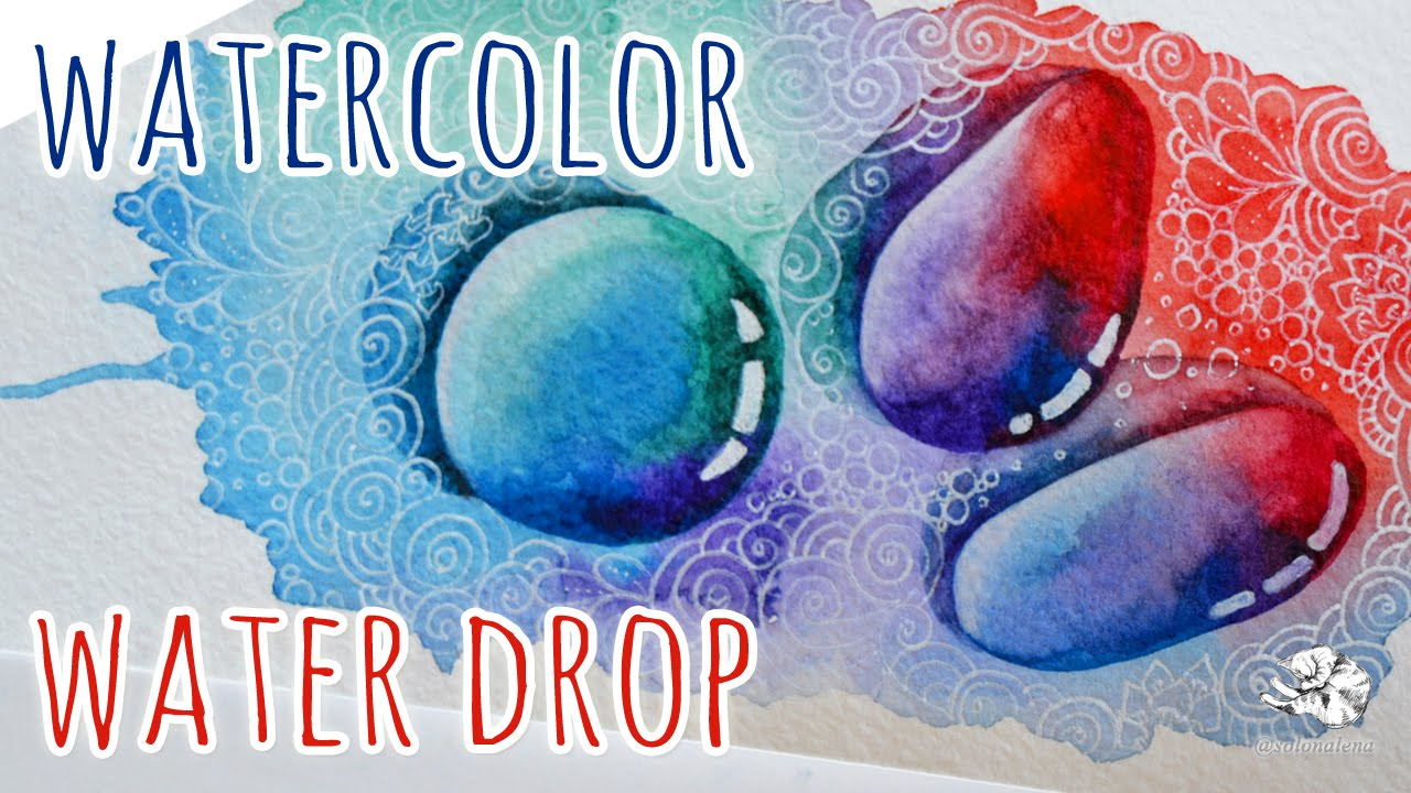 Watercolor Water Drops At Getdrawings Com Free For Personal Use