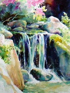 Watercolor Water Scenes