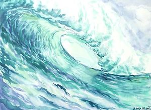 Watercolor Waves at GetDrawings com | Free for personal use