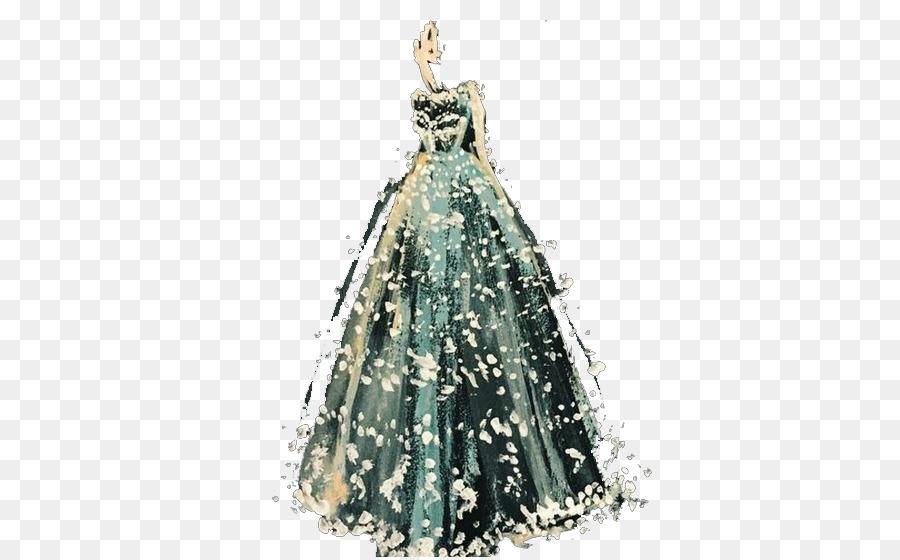 900x560 Paper Fashion Illustration Watercolor Painting Illustration