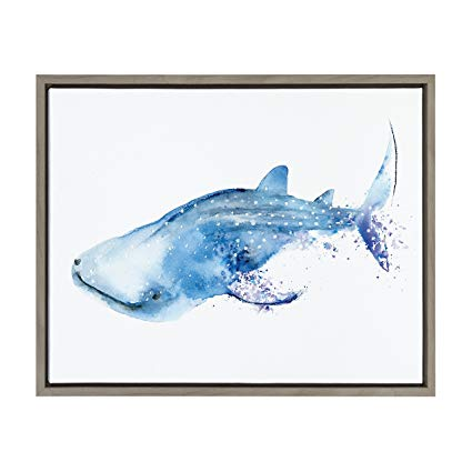 Watercolor Whale Shark