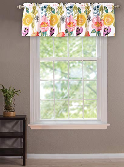 409x550 Greenland Home Watercolor Dream Window Valance Home