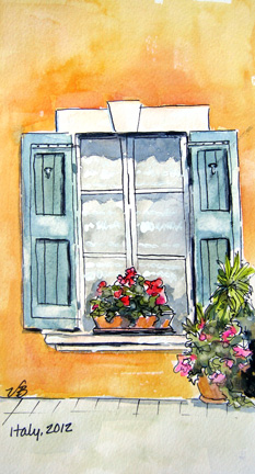 233x432 Vicki Brevell, Painter Window