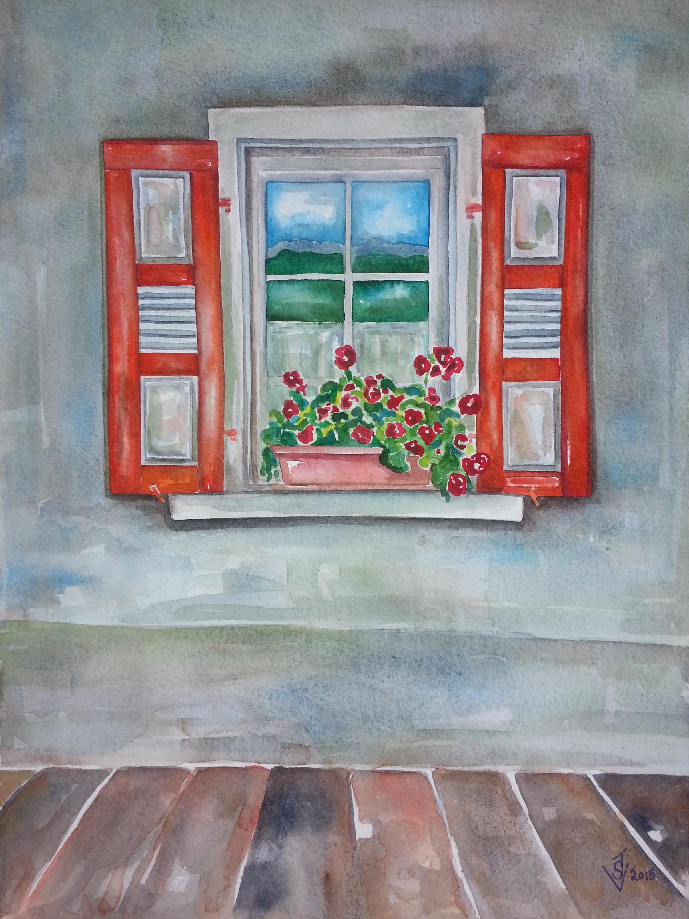 2412x3217 Watercolor Suzanne Jordan Villella, Artist