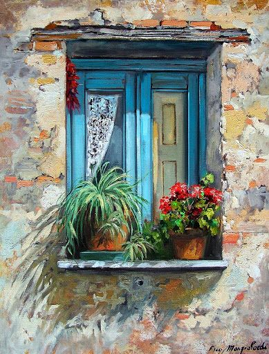 389x512 Window Garden. Love This! Art. In 2018 Window