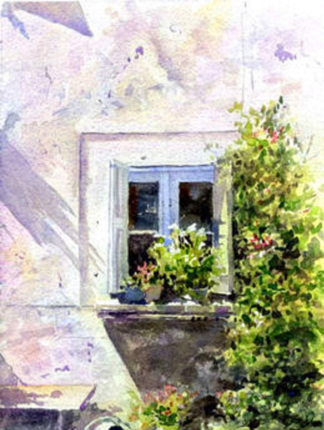 1038x1378 Blue Window